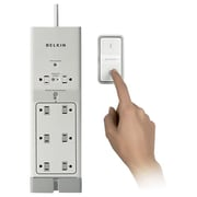 Belkin® 8-Outlet 1000 Joule Conserve Switch Surge Protector With 4' Cord