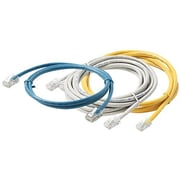 Steren 308-503BL 3' CAT-5e Non-Booted Patch Cord, Blue