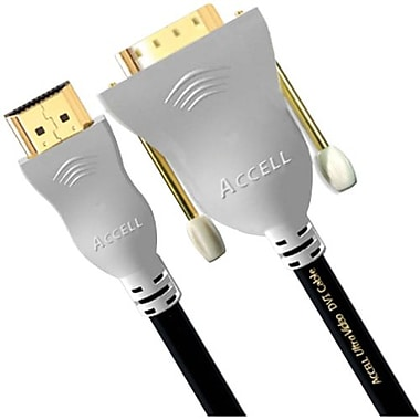 Accell® UltraAV 21' Standard HDMI Cable With DVI Connector