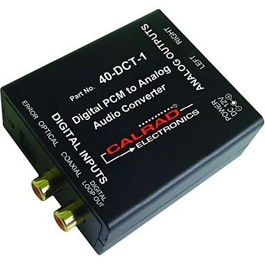 Calrad® Electronics 40-DCT-1 Digital to Analog Converter