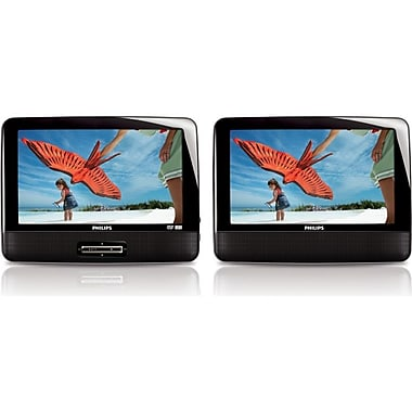 Philips PD9012P/37 9in. LCD Dual Screen Portable DVD Player