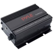 Pyle® PLMPA35 2 Channel 300 W Mini Amplifier With 3.5mm Input, Black