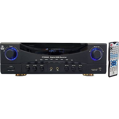 Pyle® PT590AU 5.1 Channel 350 W A/V Receiver With 3D Pass-Thru