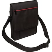 "V7 TD21BLK-1N Polyester Premium Messenger Bag for 10.1"" Apple iPad and Tablet PCs, Black"