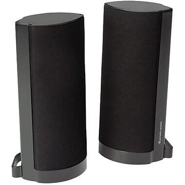 V7® A520S-N6 4.6 W USB Speaker System, Glossy Black