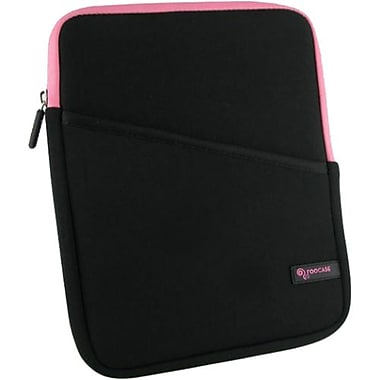 Godirect rOOCASE Super Bubble Neoprene Sleeve For iPad Mini/Universal 7in. Tablet, Black/Pink