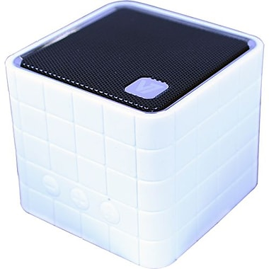 V7® SP5000 Bluetooth Wireless Portable Speaker, White