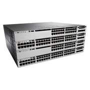 Cisco® Catalyst 3850 Data IP Managed Layer 3 Gigabit Ethernet Switch, 48-Ports (WS-C3850-48T-E)