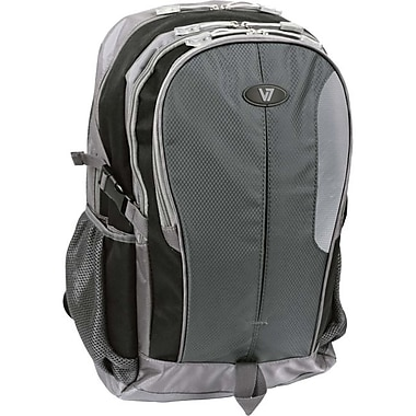 V7® Odyssey 15.6in. Notebook Backpack, Gray/Black