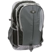 V7® Odyssey 15.6 Notebook Backpack, Gray/Black
