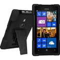 Amzer® Double Layer Hybrid Case For Nokia Lumia 925, Black