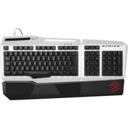 Mad Catz® S.T.R.I.K.E. 3 Gaming Keyboard, White