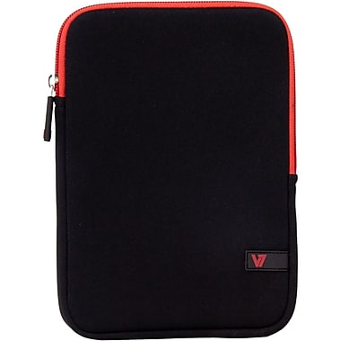 V7 TDM23BLK-RD-2N Neoprene Ultra Protective Sleeve for 8
