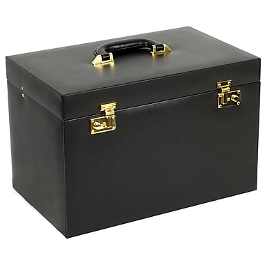 WOLF Heritage Collection 10 3/4in. x 16 1/4in. x 10 1/4in. Extra Large Heirloom Jewelry Trunks
