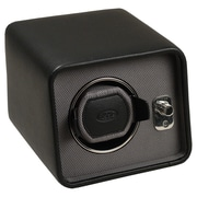 WOLF Module 2.5 Windsor Single Watch Winder, Black
