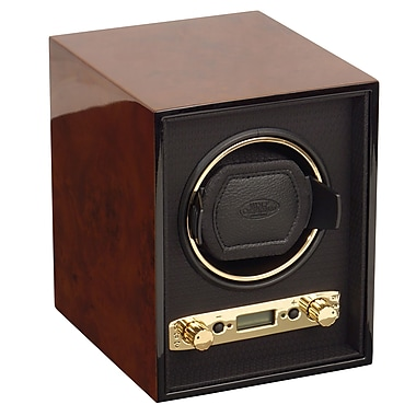 WOLF Meridian Single Watch Winder, Burl