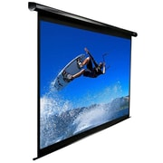 Elite Screens® VMAX2 Series 99 Electric Projection Screen, 1:1, Black Casing