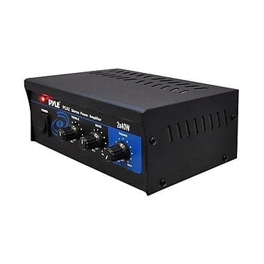 Pyle® PCA2 2 x 40 W Stereo Power Amplifier