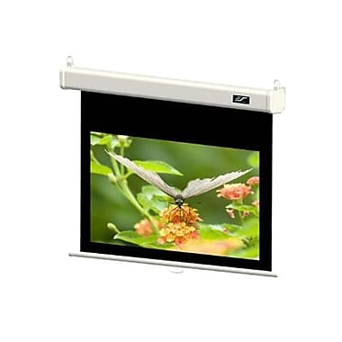 Elite Screens® Manual SRM Pro Series 84in. Manual Projection Screen, 4:3, White Casing