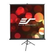 Elite Screens® Tripod Series 60 Portable Projection Screen, 16:9, Black Casing