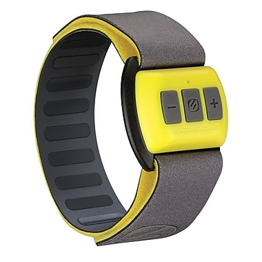 Scosche® RHYTHM Bluetooth® Armband Pulse & Heart Rate Monitor For iPhone, Yellow/Black