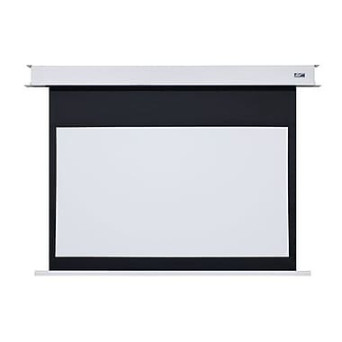 Elite Screens® EB100HW-E8 Evanesce B Series 100in. Electric Projection Screen, 16:9, White Casing