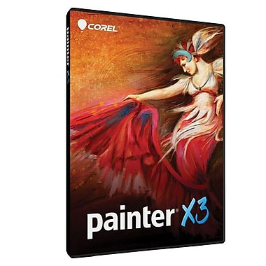 Corel™ PTRX3ENPCMUGAM Painter X3 (Windows/Mac Version) Software