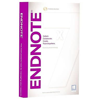 Thomson Reuters Researchsoft Upgrade Endnote X7 Hybrid