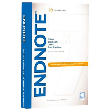 Thomson Reuters Researchsoft Acad Endnote X7 Hybrid