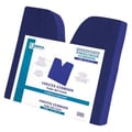 Essential Medical Coccyx Cushion in Navy; 18'' x 16'' x 3''