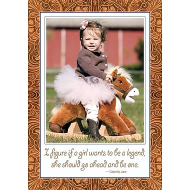 Barker Creek 19in. x 13 3/8in. Poster, Calamity Jane