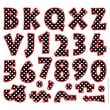 Barker Creek 2in. Letter Pop-Outs, Dots