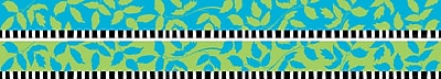 Barker Creek LL 970B 35 x 3 Straight Nature s Colors Double Sided Trim Multicolor