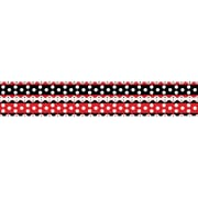 "Barker Creek LL-980B 35"" x 3"" Straight Just Dotty Double Sided Trim, Multicolor"