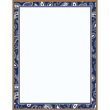 Barker Creek Blue Bandana Stationary
