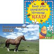 Barker Creek Celebrate Reading Chart Set