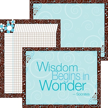 Barker Creek Wisdom & Wonder Chart Set