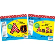 Barker Creek 2 & 4 Pop-Outs Letter Set, Dots