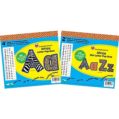 Barker Creek 2in. & 4in. Pop-Outs Letter Set