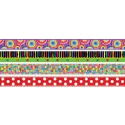"""Barker Creek SS-0951 35"""" x 3"""" Straight In The Groove Trimmer Set, Multicolor"""