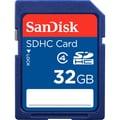 SanDisk 32GB SDHC (Secure Digital High Capacity) Class 4 Flash Memory Card