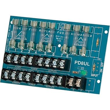 Altronix® PD8UL 8 Fused Outputs Power Distribution Module, 28 VAC Input