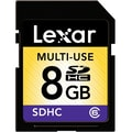 Lexar™ 8GB SDHC (Secure Digital High Capacity) Class 6 Flash Memory Card