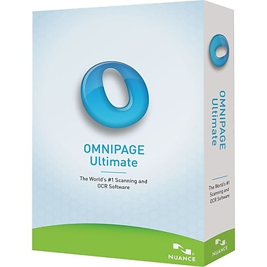 Nuance® E709A-G00-19.0 OmniPage Ultimate Software, 1 User