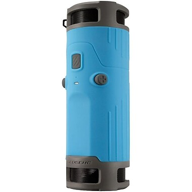 Scosche® boomBOTTLE Weatherproof Bluetooth Speaker System, Blue/Black