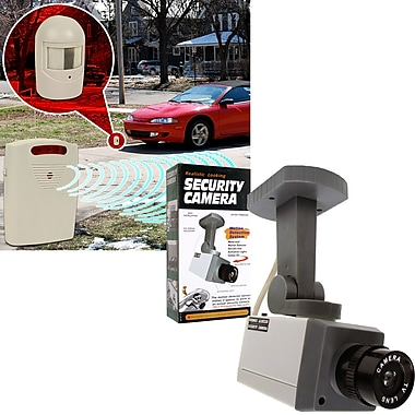 Trademark Global® 82-3731SET Driveway Patrol and Rotating Imitation Security System