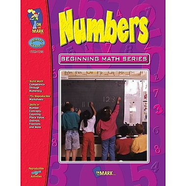 Beginning Math Series: Numbers, Grade 1-3