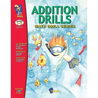 Addition Drills, Grade 1-3