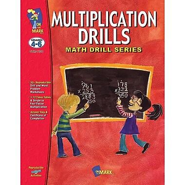 Multiplication Drills, Grade 4-6