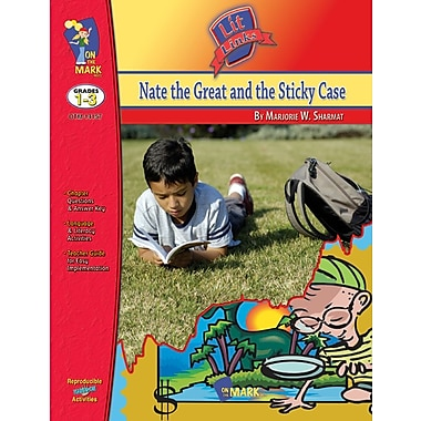 Nate the Great and the Sticky Case Lit Link, Grade 1-3